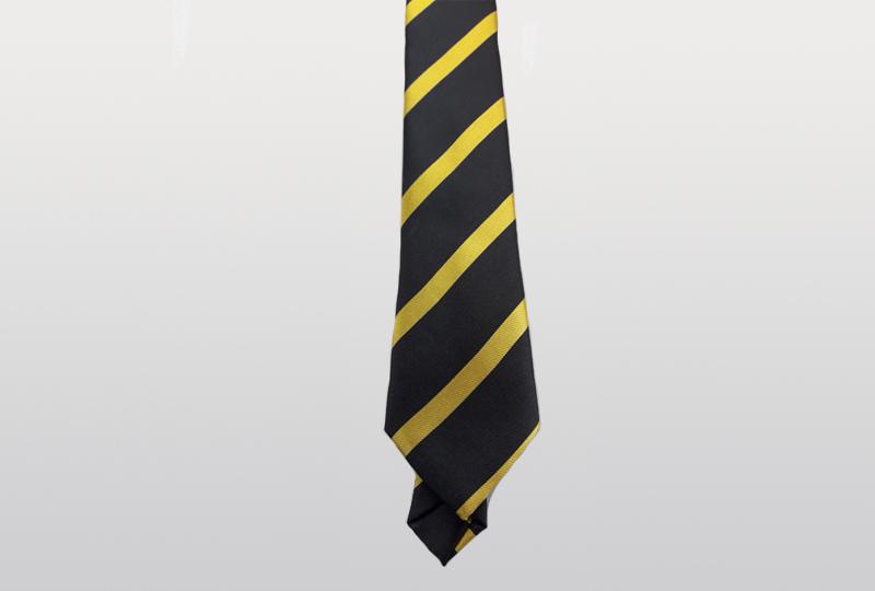 Çizgili Dokuma Kravat