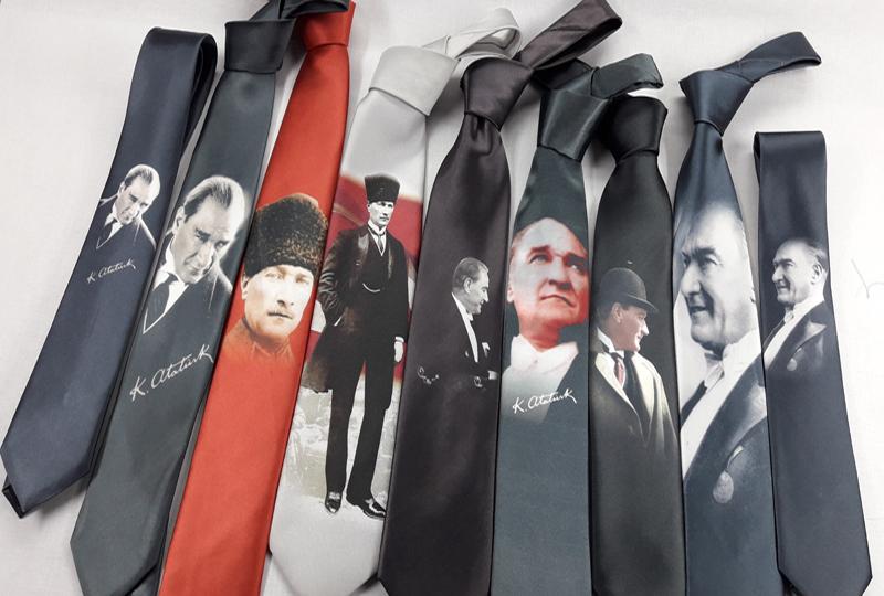 Atatürk Baskılı Kravat