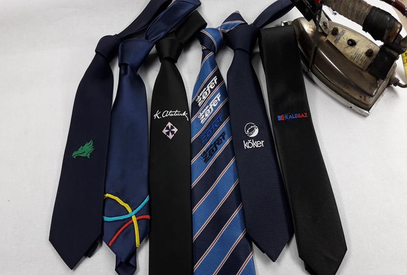 Nakış Logolu Kravat