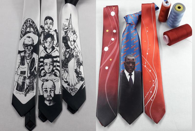 Dijital Baskılı Kravat