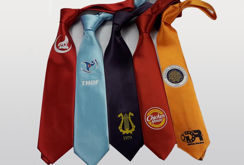 Logo Baskılı Kravat